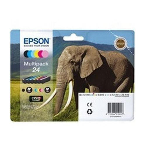 Epson T242840 24 Series Multi Pack Ink Black/Cyan/Light Cyan/Magenta/Light Magenta/Yellow