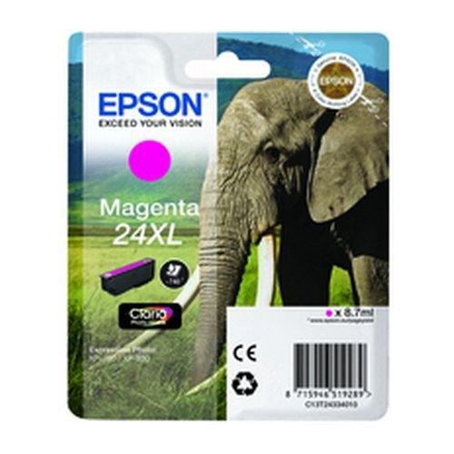 Epson T243340 24XL Series Elephant Magenta Ink Cartridge