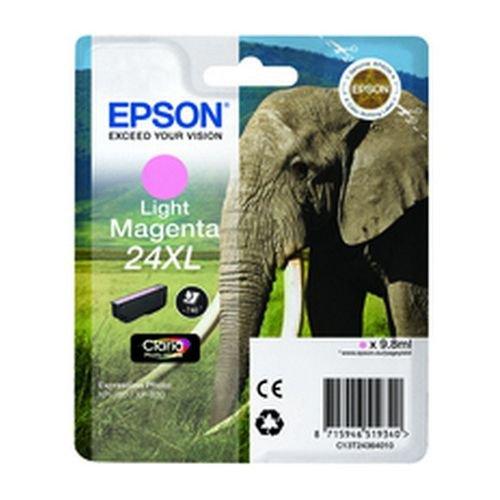 Epson T243640 24XL Series Elephant Light Magenta Ink Cartdge