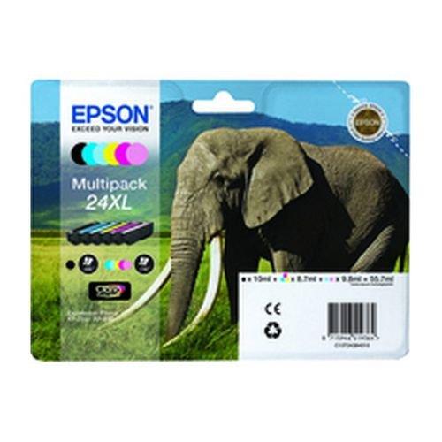 Epson T243840 24XL Series Multi Pack Ink Black/Cyan/Light Cyan/Magenta/Light Magenta/Yellow