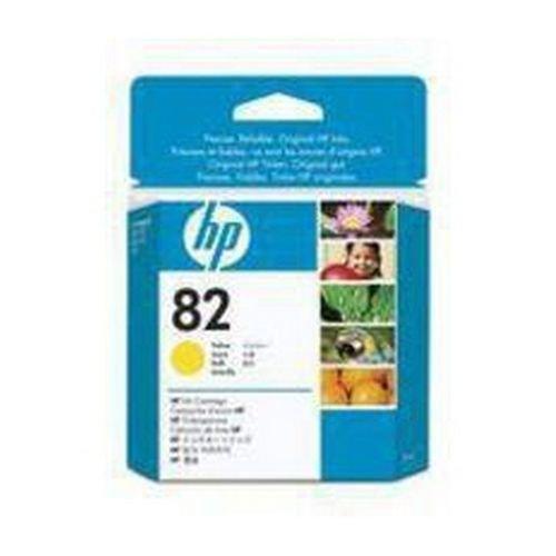 Hewlett Packard CH568A No 82 28ml Yellow Ink Cartridge