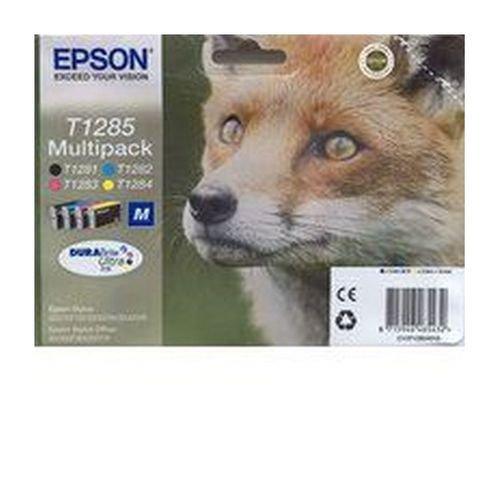 Epson Fox Ink Cartridge 4 Pack Black; Cyan; Magenta; Yellow T12854010