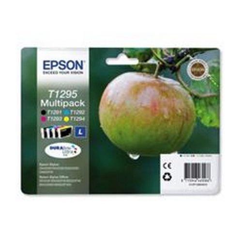 Epson Apple 4 Pack Ink Cartridges Black; Cyan; Magenta; Yellow T1295
