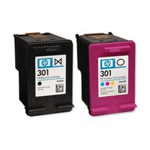Hewlett Packard No 301 Black and Tri Colour Combo Pack N9J72AE