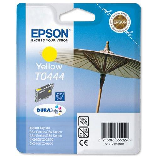Epson C64/84 Ink Cartridge Yellow T044440