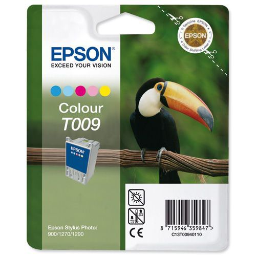 Epson Stylus Photo 1270 T009 5 Colour Ink Cartridge T009401