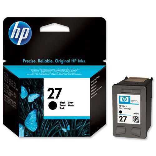 Hewlett Packard No.27 Inkjet Print Cartridge Black C8727A