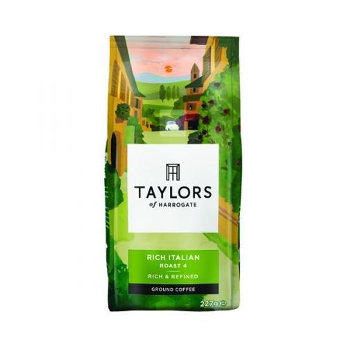 Taylors Rich Italian Ground Coffee 227g