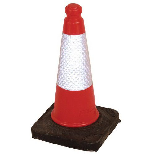 50cm Sand Weighted Cone Red