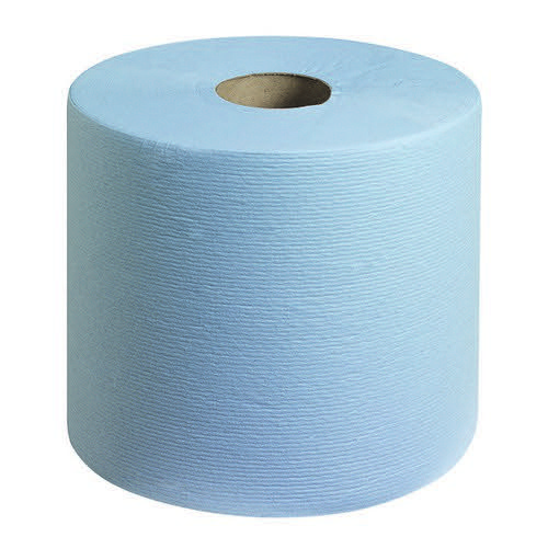 WypAll L10 Food & Hygiene Wiping Paper 6223 - 1 Ply Centrefeed Blue Roll - 6 Centrefeed Rolls x 430