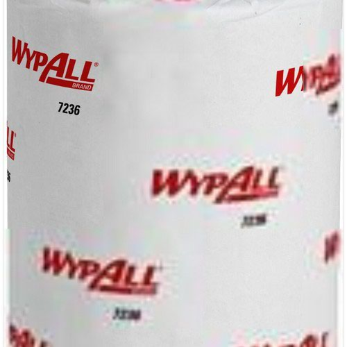 WypAll L10 Service & Retail Wiping Paper 6220 - 1 Ply Centrefeed Blue Roll - 6 Centrefeed Rolls x 28