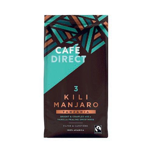 Cafedirect Kilimanjaro Coffee 227g FCR0018