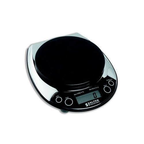 Electronic Letter Scale Chrome/Black