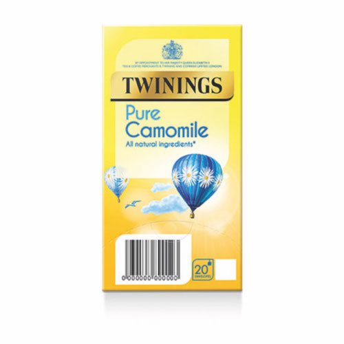 Twinings Pure Camomile Envelopes Quantity 20 Bags