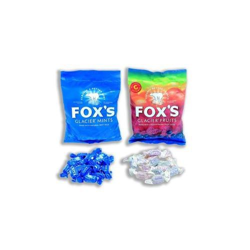 Foxs Glacier Mints Wrapped Boiled Sweets in Bag 200g Pack 12
