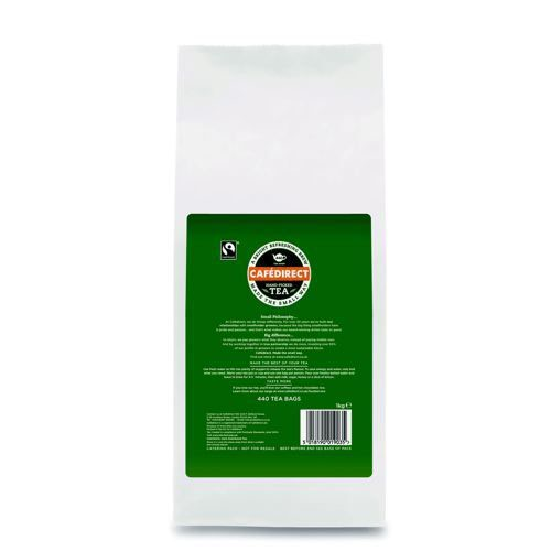 Cafe Direct Fairtrade Teabags Pack 1100