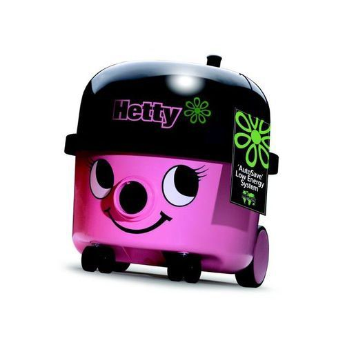 Numatic HET-200 Hetty Vacuum Cleaner 620W 6 Litre 7.5kg Pink