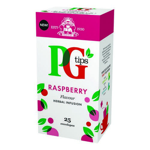 PG Tips Raspberry Envelope Box 25