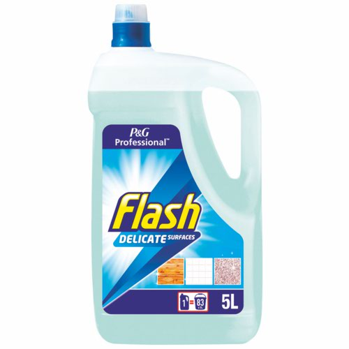 Flash Clean and Care Cleaner With Bicarbonate of Soda for Stone Ceramic Steel 5 Litres