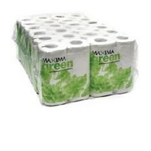 Toilet Roll Recycled 2-Ply 320 Sheets White Pack 36