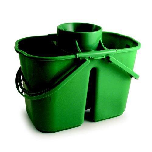 15 Litre Duo Mop Bucket Green