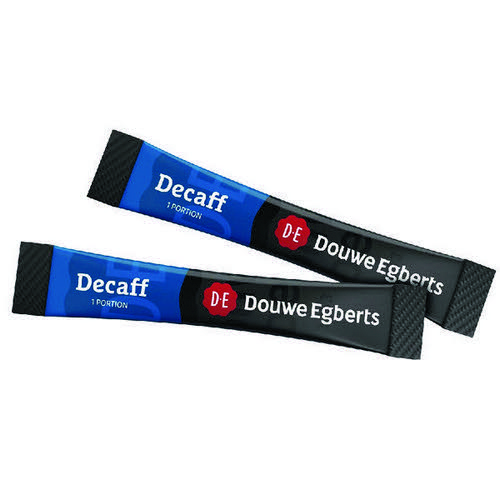 Douwe Egberts Decaffinated Coffee Sticks Pack 500 One Cup Sticks