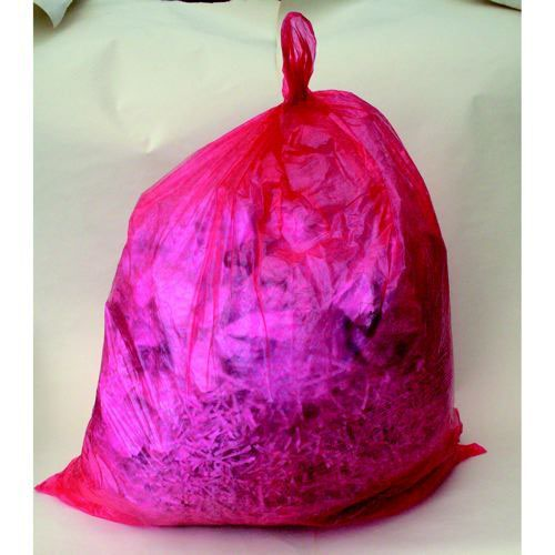 Polymax Coloured Refuse Sack Red Pack 200