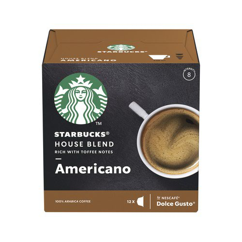 Starbucks House Blend Medium Roast Americano 3x12