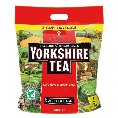 Yorkshire Tea Bags Pack 1040s