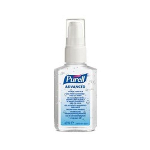 Purell Advanced Hygenic Hand Rub 60ml Personal Issue Spray 24s
