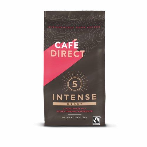 Cafe Direct Intense Roast Fairtrade Roast and Ground Coffee 227g