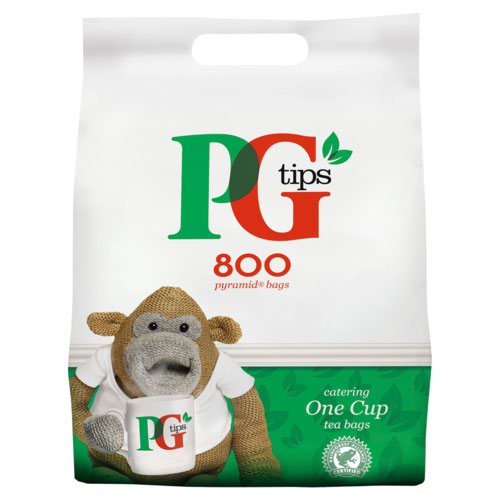 PG Tips 1 Cup Tea Bags Pack 800