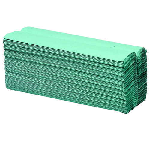 Initiative Paper Towels C-Fold Green Pack 2688 (16 packs of 168) 90mm x 230mm