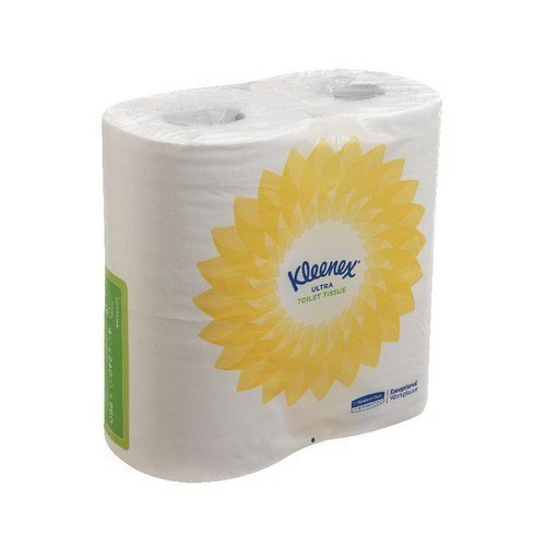 Kleenex 2-Ply Ultra Toilet Tissue 240 Sheets (2 ply tissue 124 x 104mm sheet size) 8475