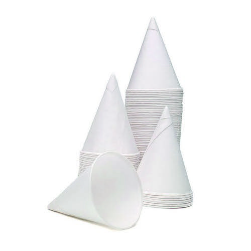 Water Cones 4oz Pack 5000