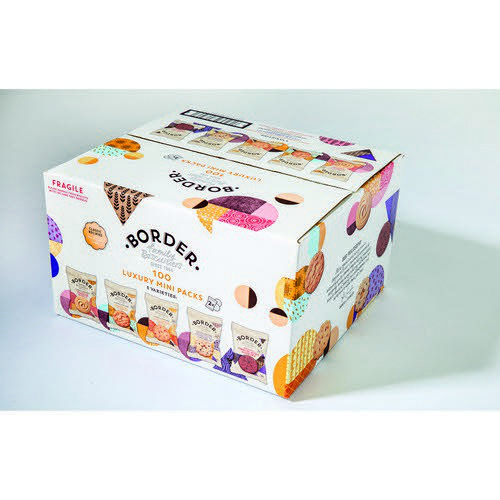 Border Biscuits 5 Variety 100 Twin Mini Packs