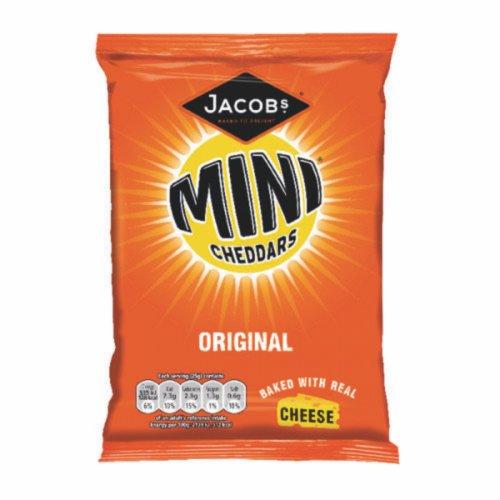 Mini Cheddars Grab Bag Original 50g Pack 30