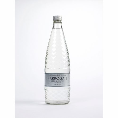 Harrogate Sparkling Water Glass Bottle 750ml Pack 12