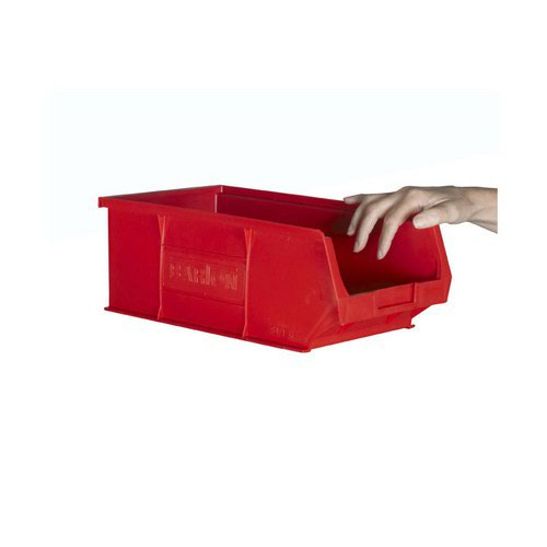 TC4 Red Containers L350xW205xH132mm Pack 10