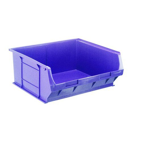 TC6 Blue Container L375xW420xH182mm Pack 5