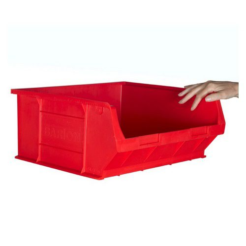 TC6 Red Container L375xW420xH182mm Pack 5