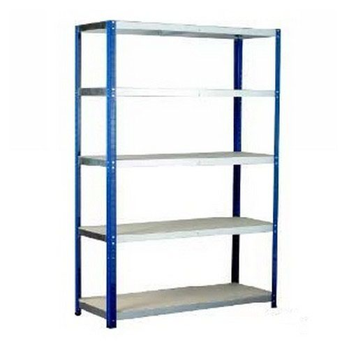 Eco-Rax H1800xW1200xD600mm c/w 5 Chipboard Shelves