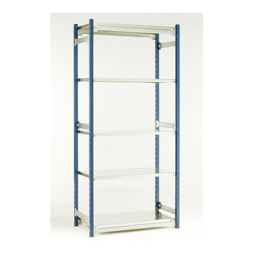 Toprax O/A H2000xW910xD478mm Single Sided Extension c/w 5 Shelves W870xD440mm