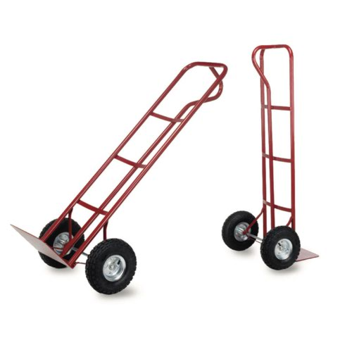 P Handle Sack Truck Red