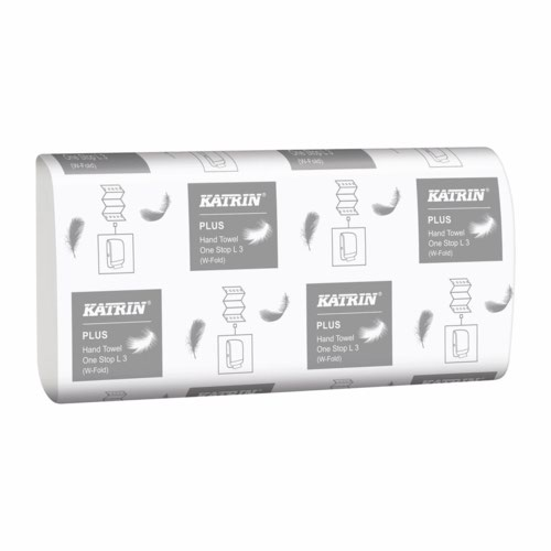 Katrin Plus M Fold Hand Towel Pack 1890