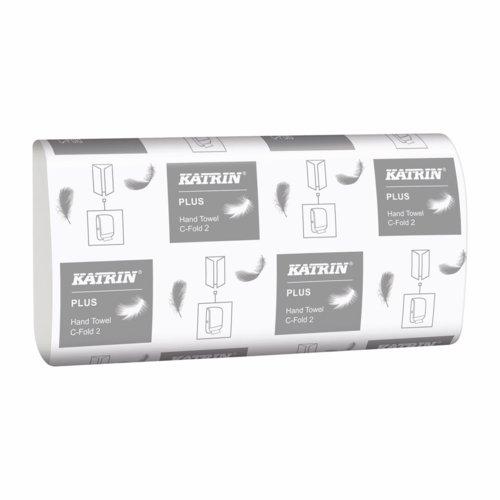 Katrin Plus Hand Towel C Fold 2ply Pack 24