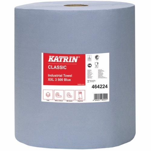 Katrin Classic Industrial XXL3 Blue Laminated Towel 500 Pack 2