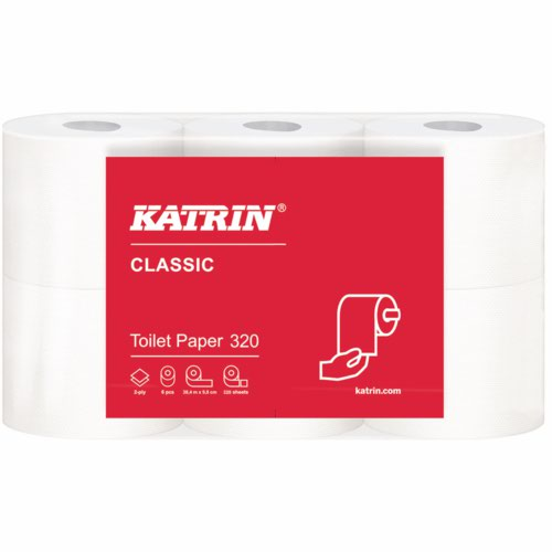 Katrin Classic Toilet Rolls Pack 36