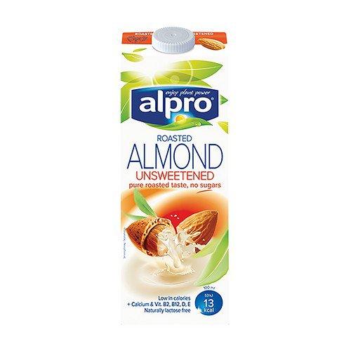 Alpro Almond Milk Unsweetened 1ltr Pk8