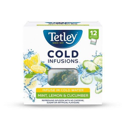 Tetley ColdInfusn MintLemon&Cucumber P12